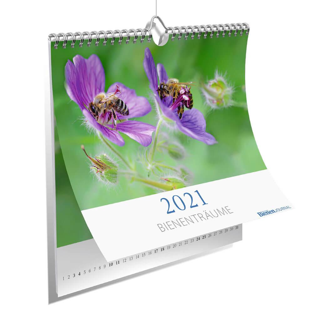 Fotokalender Deutsches Bienen-Journal 2021