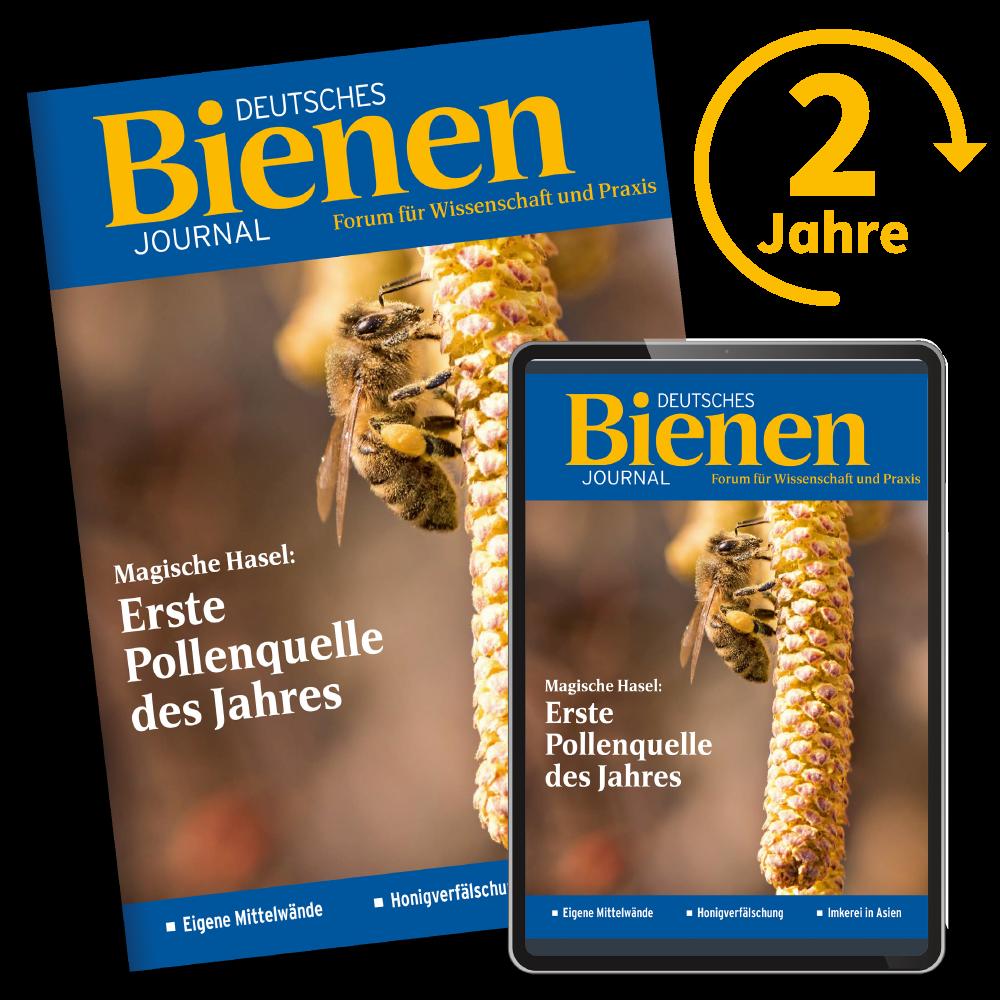 Bienen-Journal Kombiabo 2 Jahre